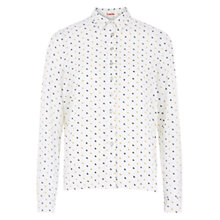 Buy Louche Manzie Moon Shirt, Off White Online at johnlewis.com