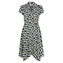 Buy Louche Theta Daisy Print Dress, Navy Online at johnlewis.com