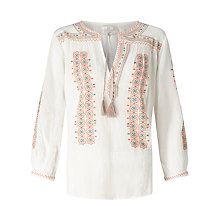 Buy Joie Sunflower Blouse, Pale Peach Online at johnlewis.com