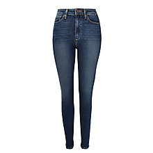 Buy Paige Margot Ultra Skinny Ankle Jeans, Brennan Online at johnlewis.com