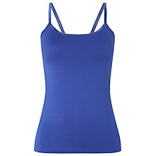 Buy Phase Eight Satin Binding Camisole Top, Iris Online at johnlewis.com