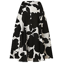 Buy Phase Eight Fleur Skirt, Black/Ivory Online at johnlewis.com