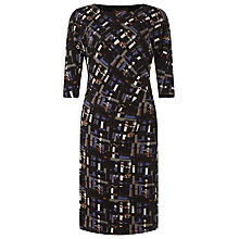 Buy Phase Eight Lexi Dress, Black/Multi Online at johnlewis.com