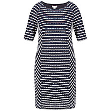 Buy Celuu Ella Panelled Dress, Navy Online at johnlewis.com