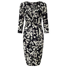 Buy Phase Eight Mollie Dress, Black/Grey Online at johnlewis.com