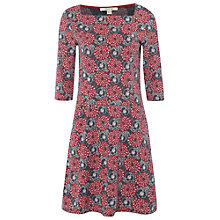 Buy White Stuff Delft Jersey Dress, Red Online at johnlewis.com