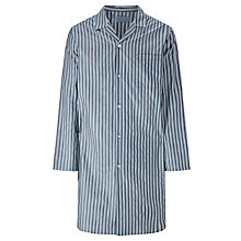 Buy John Lewis Rochester Stripe Nightshirt, Navy/Blue Online at johnlewis.com