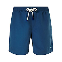 Buy Gandys for John Lewis Plain Swim Shorts, Blue Online at johnlewis.com