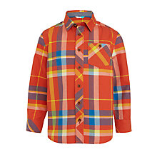Buy John Lewis Boys' Check Oxford Shirt, Multi Online at johnlewis.com