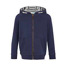 Buy John Lewis Boys' Core Hoodie, Navy Online at johnlewis.com