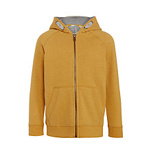 Buy John Lewis Boys' Zipped Melange Hoodie Online at johnlewis.com