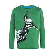 Buy John Lewis Boys' Woodpecker Top, Dark Green Online at johnlewis.com