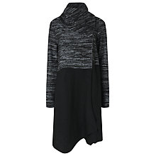 Buy Phase Eight Colour Block Bellona Coat, Black Online at johnlewis.com