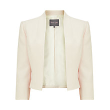 Buy Phase Eight Ellie Jacket, Cream Online at johnlewis.com