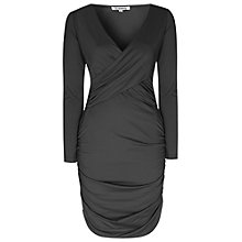 Buy True Decadence Ruched Bodycon Dress, Black Online at johnlewis.com