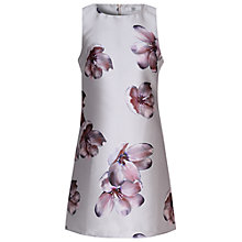 Buy True Decadence Jacquard Shift Dress, Grey Orchid Online at johnlewis.com