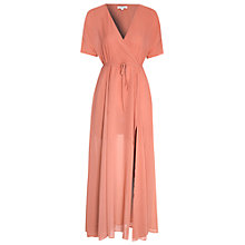 Buy True Decadence Tie Waist Maxi Dress, Dusty Pink Online at johnlewis.com