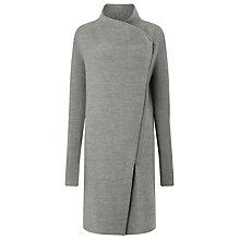 Buy Phase Eight Byanca Zip Coat, Grey Online at johnlewis.com
