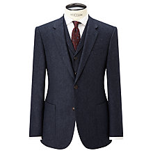 Buy JOHN LEWIS & Co. Bennett Donegal Wool Tailored Suit Jacket, Blue Online at johnlewis.com