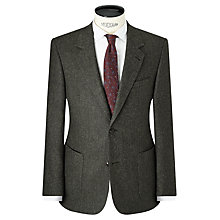 Buy JOHN LEWIS & Co. Bennett Donegal Wool Tailored Suit Jacket, Green Online at johnlewis.com