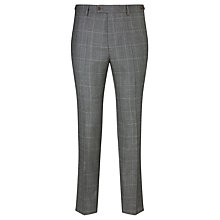 Buy JOHN LEWIS & Co. Hooper Prince of Wales Check Tailored Suit Trousers, Mid Grey Online at johnlewis.com