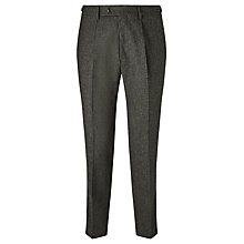 Buy JOHN LEWIS & Co. Bennett Donegal Wool Tailored Suit Trousers, Green Online at johnlewis.com