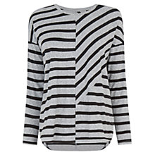 Buy Warehouse Stripe Cut About Top Online at johnlewis.com