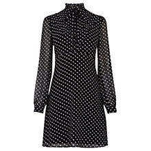 Buy Warehouse Mini Scotty Dog Dress, Black Online at johnlewis.com