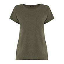 Buy Warehouse Pocket Detail T-Shirt Online at johnlewis.com
