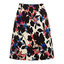Buy Warehouse Floral Print Skirt, Multi Online at johnlewis.com