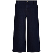 Buy Jaeger Denim Culottes, Indigo Online at johnlewis.com
