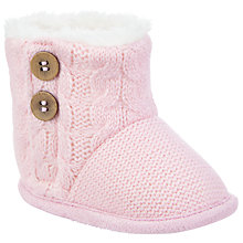 Buy John Lewis Baby Knitted Booties Online at johnlewis.com