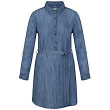 Buy Celuu Lydia Shirt Dress, Blue Online at johnlewis.com