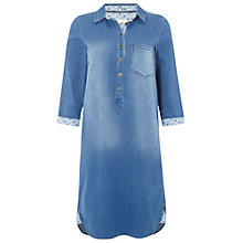 Buy White Stuff Sabine Shirt Dress, Denim Online at johnlewis.com