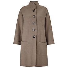 Buy East Funnel Boiled Wool Coat Online at johnlewis.com