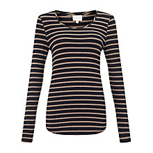 Buy East Breton Stripe Top, Neutral Online at johnlewis.com