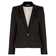 Buy Oasis Alba Workwear Jacket, Black Online at johnlewis.com