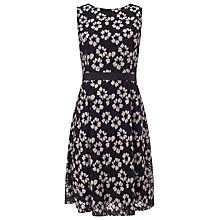 Buy Precis Petite Lace Dress, Multi Black Online at johnlewis.com