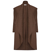 Buy Windsmoor Wool Blend Coatigan, Brown Online at johnlewis.com