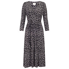 Buy East Leopard Print Dress, Neutral Online at johnlewis.com