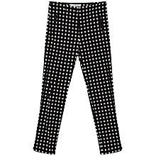 Buy Gerard Darel Cinema Trousers, BlackWhite Online at johnlewis.com