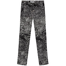 Buy Gerard Darel Chelsea Trousers, Black/White Online at johnlewis.com
