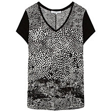 Buy Gerard Darel Clarina T-Shirt, Black/Multi Online at johnlewis.com