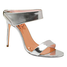 Buy Ted Baker Chablise Slip On Stiletto Sandals Online at johnlewis.com