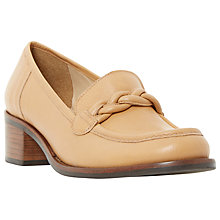 Buy Dune Grateful Block Heeled Loafers Online at johnlewis.com