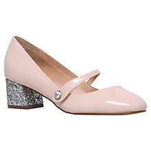 Buy Miss KG Nylah Block Heeled Court Shoes, Pink Online at johnlewis.com