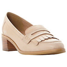 Buy Dune Gwyneth Block Heeled Loafers Online at johnlewis.com