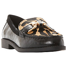 Buy Dune Genre Buckle Detailing Low Heeled Loafers Online at johnlewis.com