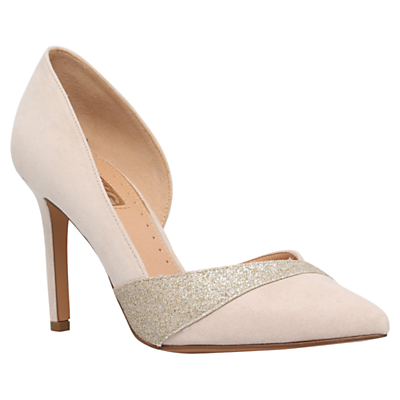 Miss KG Cai Asymmetric Court Shoes, Nude