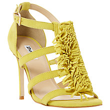 Buy Dune Milano Fringe Stiletto Sandals Online at johnlewis.com